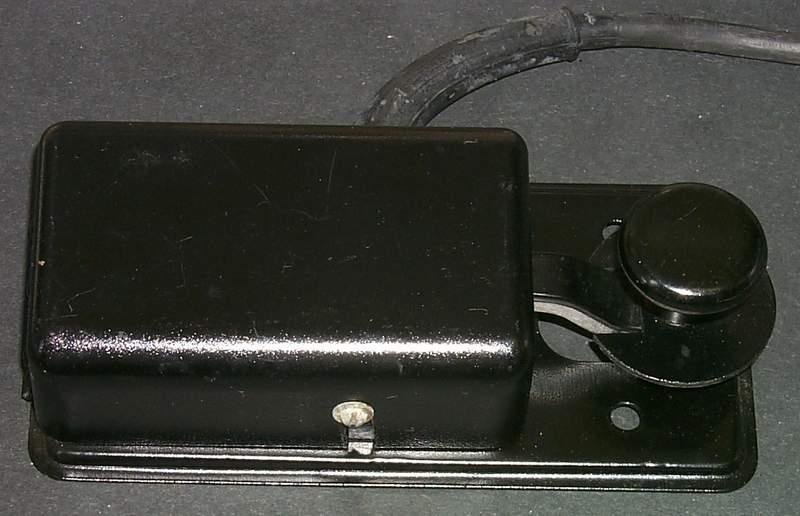 Black morse key